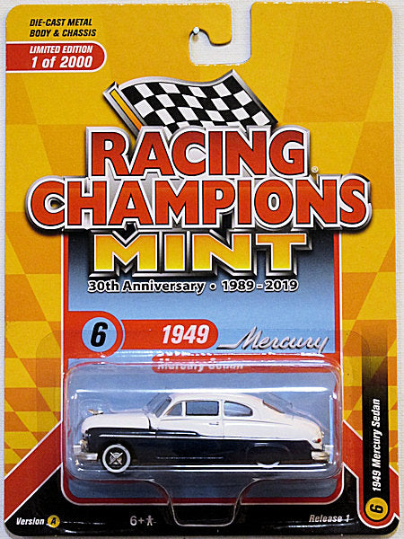 1949 Mercury Sedan (2019 Racing Champions - MINT) 30th Anniversary