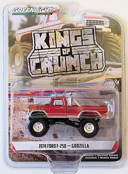 1974 Ford F-250 - Godzilla (2020 Greenlight - Kings of Crunch Series 6)