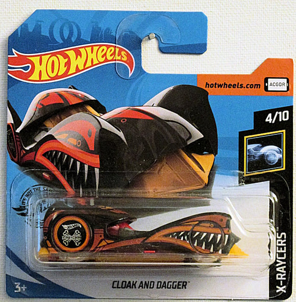 Cloak and Dagger (2020 Hot Wheels - European Short Cards #87/250) X-Raycers