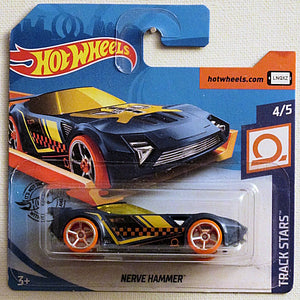 Nerve Hammer (2020 Hot Wheels - European Short Cards #100/250) Track Stars