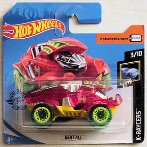 Beat All (2020 Hot Wheels - European Short Cards #86/250) X-Raycers