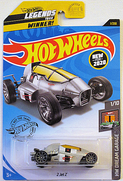2 Jet Z (2020 Hot Wheels Mainline #1/250 - HW Dream Garage #1/10) NEW for 2020!