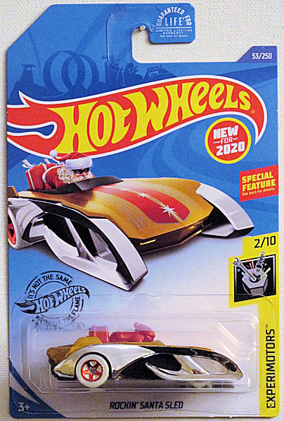 Rockin' Santa Sled (2020 Hot Wheels Mainline #53/250 - Experimotors #2/10) NEW for 2020!