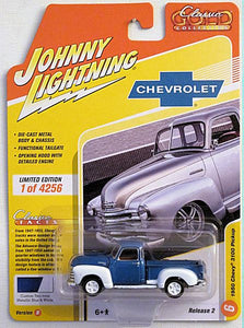 1950 Chevy 3100 Pickup (2020 Johnny Lightning - Classic Gold Collection) 2B