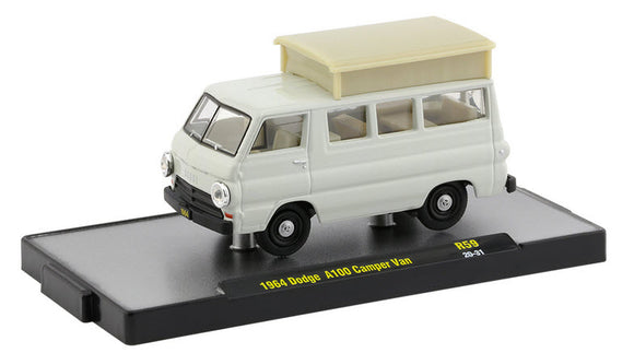 1964 Dodge A100 Camper Van (2020 M2 Machines Auto-Thentics / Auto-Shows R59)