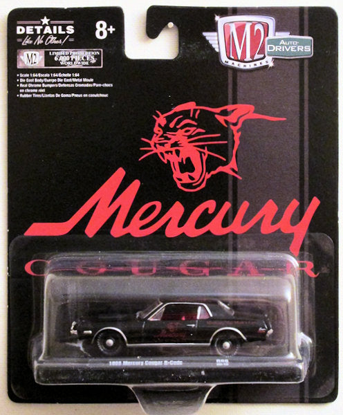 1968 Mercury Cougar R-Code (2020 M2 Machines - Auto-Drivers Release 66)