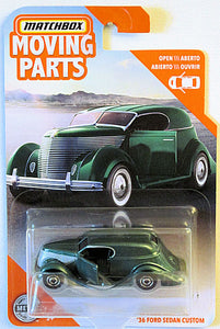 '36 Ford Sedan Custom (2020 Matchbox Moving Parts Series #2/10)