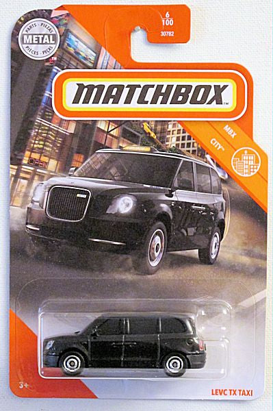 Levc TX Taxi (2020 Matchbox Mainline #6/100 - MBX City)