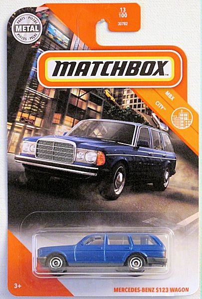 Mercedes-Benz S123 Wagon (2020 Matchbox Mainline #13/100 - MBX City)