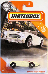 '63 Austin Healey Roadster (2020 Matchbox Mainline #42/100 - MBX City)