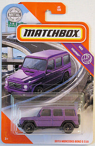 2015 Mercedes-Benz G 550 (2020 Matchbox Mainline #49/100 - MBX Highway)