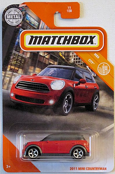 2011 Mini Countryman (2020 Matchbox Mainline #11/100 - MBX City)