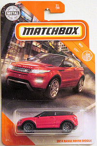 2014 Range Rover Evoque (2020 Matchbox Mainline #31/100 - MBX City)