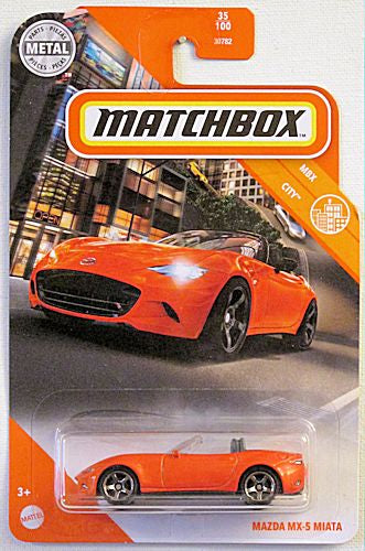 Mazda MX-5 Miata (2020 Matchbox Mainline #35/100 - MBX City)