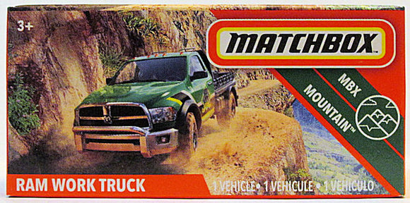 Ram Work Truck (2020 Matchbox Power Grabs #77/100 - MBX Mountain)
