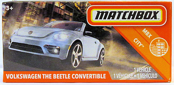 Volkswagen The Beetle Convertible (2020 Matchbox Power Grabs #2/100 - MBX City)