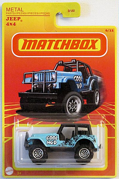 Jeep 4x4 (2020 Matchbox Retro Series - Target Exclusive #6/12)