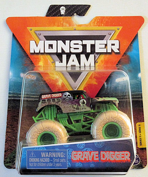Grave Digger (2020 Spin Master Monster Jam - Authentic) Mix-11A