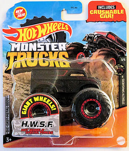 H.W.F.S. (2020 Hot Wheels Monster Trucks #63/75) Stealth Smashers #3/5