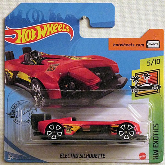 Electro Silhouette (2021 Hot Wheels - European Short Cards #181/250)