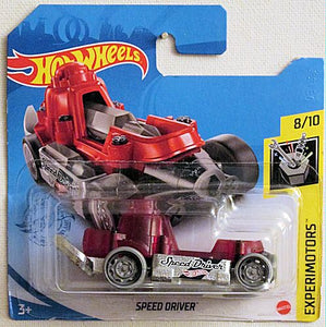 Speed Driver (2021 Hot Wheels - European Short Cards #82/250) Experimotors