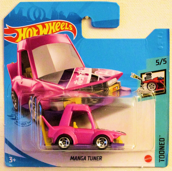 Manga Tuner (2021 Hot Wheels - European Short Cards #84/250) Tooned