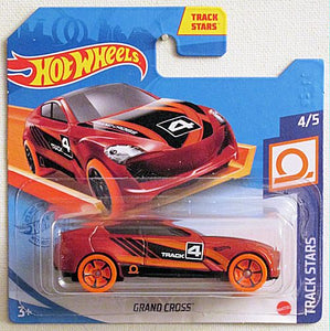 Grand Cross (2021 Hot Wheels - European Short Cards #123/250) Track Stars