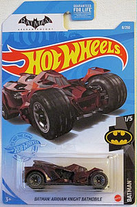 Batman: Arkham Knight Batmobile (2021 Hot Wheels Mainline #8/250 - Batman #1/5)