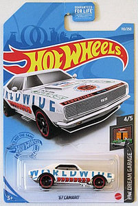 '67 Camaro (2021 Hot Wheels Mainline #110/250) HW Dream Garage #4/5