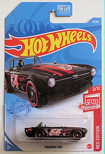 Triumph TR6 (2021 Hot Wheels Mainline #9/250 - Red Edition #2/12)Target Exclusive