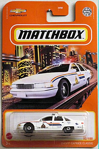 Chevy Caprice Classic (2021 Matchbox Mainline #32/100)