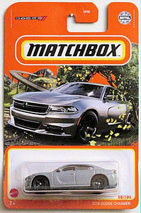 2018 Dodge Charger (2021 Matchbox Mainline #55/100)