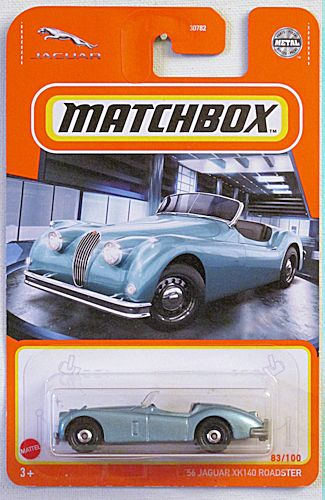 '56 Jaguar XK140 Roadster (2021 Matchbox Mainline #83/100)