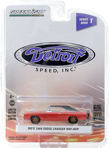 MO's 1969 Dodge Charger May-Hem (2020 Greenlight - Detroit Speed, Inc. Ser.1)