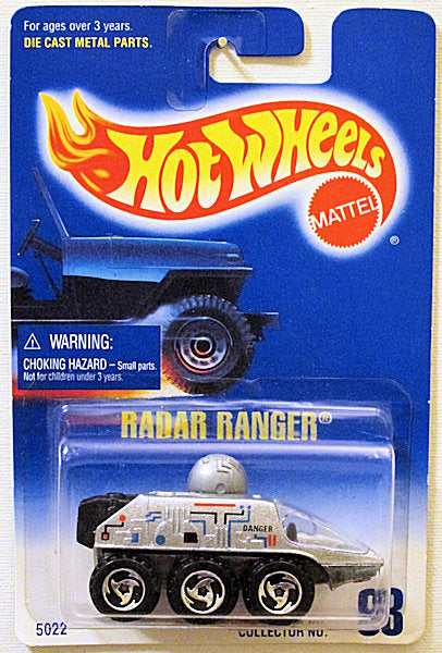 Radar Ranger (Hot Wheels Collector Number Card #63)