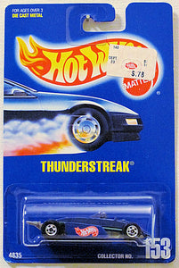 Thunderstreak (Hot Wheels Collector Number Card #153)