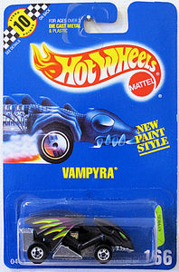 Vampyra (Hot WHeels Collector Number Card #166)