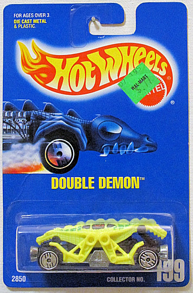Double Demon (Hot Wheels Collector Number Card #199)
