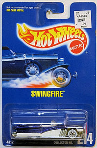 Swingfire (Hot Wheels Collector Number Card #214) Scratch & Dent