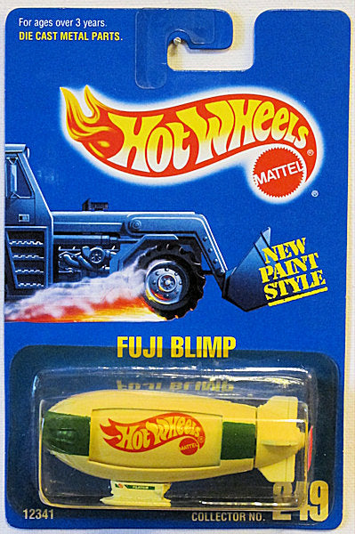 Fuji Blimp (Hot Wheels Collector Number Card #249)