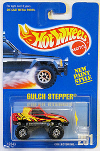 Gulch Stepper (Hot Wheels Collector Number Card #251)