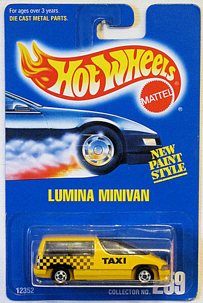 Lumina Minivan (Hot Wheels Collector Number Card #259)