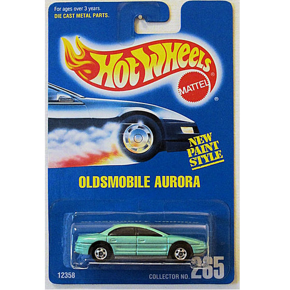 Oldsmobile Aurora (Hot Wheels Collector Number Card #265)