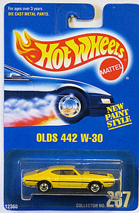 Olds 442 W-30 (Hot Wheels Collector Number Card #267)
