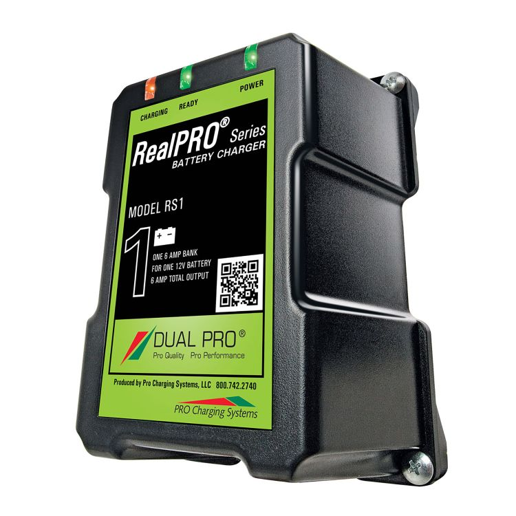 Dual Pro RS1 6 Amp Bank 12V Battery Charger