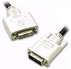 3' DVI-D Male-to-Female Cable - Black