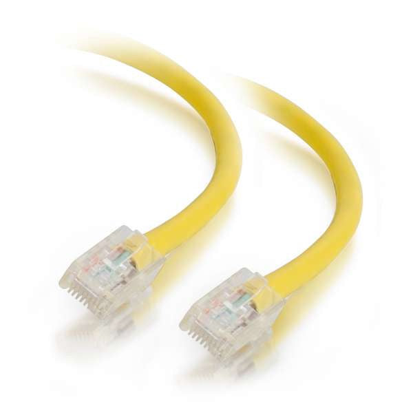 C2G 00558 Network Cable - 8 ft Cat5e Non Booted UTP Unshielded Network Patch Cable Yellow