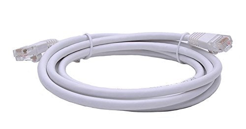 BattleBorn 1 Foot CAT6 Ethernet Network Patch Cable Premium (White) BB-C6MB-1WHT Lifetime Warranty