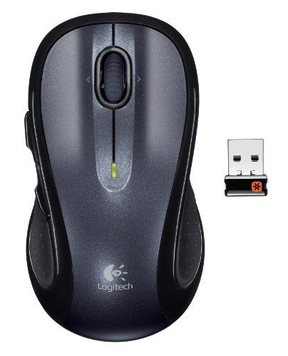 Logitech M510 USB RF Wireless Mouse Gray / Black (910-001822)