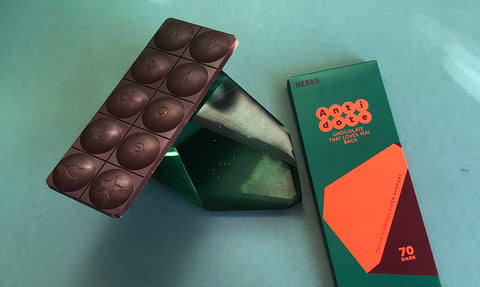 Introducing Antidote Hangover Remedy chocolate bar with Intox-Detox
